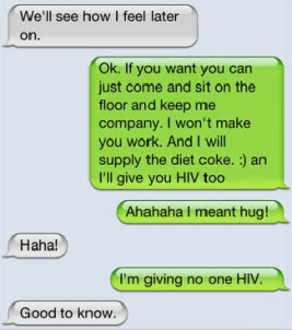 I will supply the Diet Coke